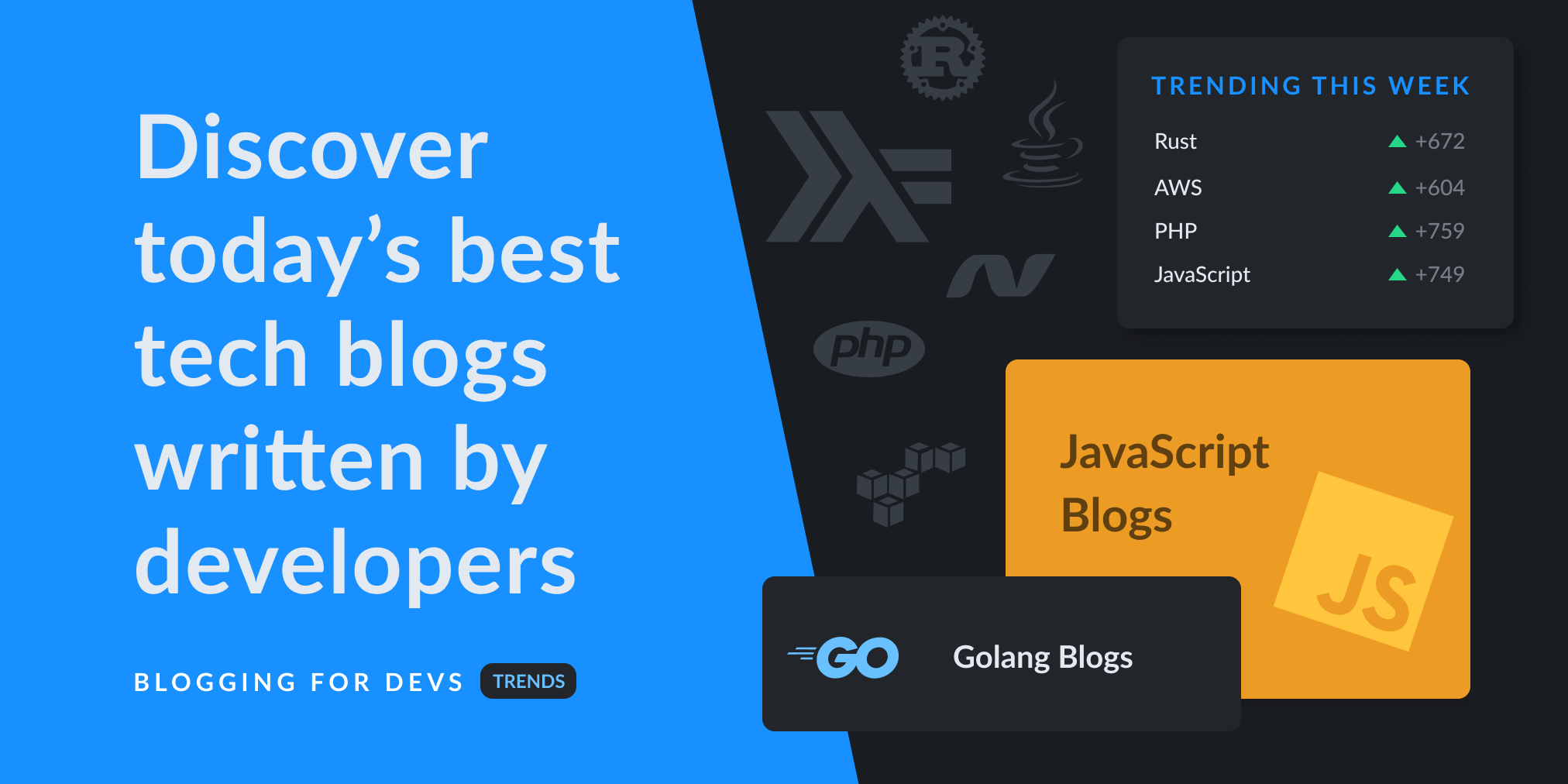 Blogging for Devs Trends